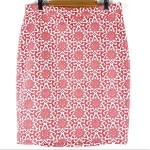 NWT J CREW Women's Basketweave Pencil Skirt Size 6